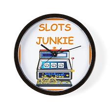 slots joke Wall Clock