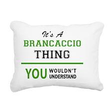 Cute Brancaccio Rectangular Canvas Pillow