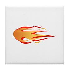 FLAMES Tile Coaster