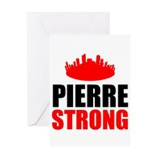 Pierre Strong Greeting Cards