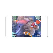 Clown Fish Aquarium Aluminum License Plate