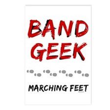 Band Geek Postcards (Package of 8)