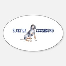 BLUETICK COONHOUND FULL CHEST Decal
