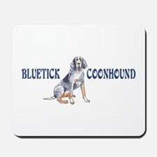 BLUETICK COONHOUND FULL CHEST Mousepad