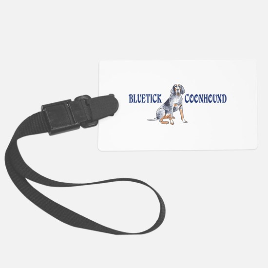BLUETICK COONHOUND FULL CHEST Luggage Tag