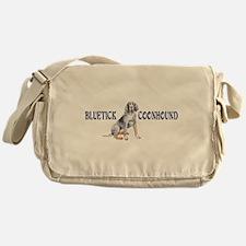BLUETICK COONHOUND FULL CHEST Messenger Bag