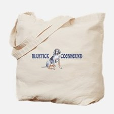 BLUETICK COONHOUND FULL CHEST Tote Bag
