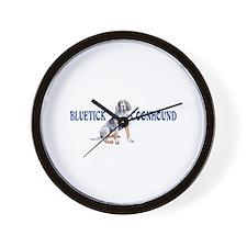 BLUETICK COONHOUND FULL CHEST Wall Clock