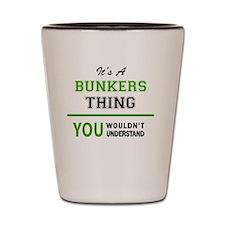 Funny Bunker Shot Glass