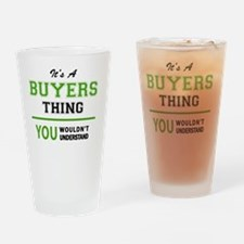Funny Buyer Drinking Glass