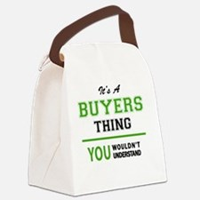 Funny Buyer Canvas Lunch Bag