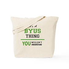 Funny Byu Tote Bag