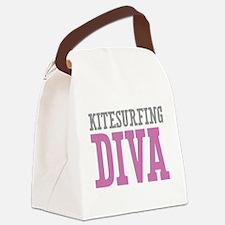 Kitesurfing DIVA Canvas Lunch Bag
