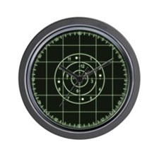 Sonar Green Wall Clock