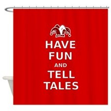 Have Fun Tell Tales Shower Curtain