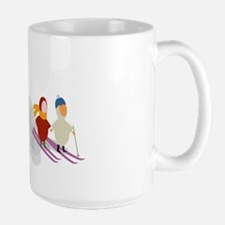 Emille and Eva Ski Mug
