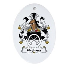 Wehner Oval Ornament