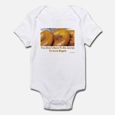 Love Bagels Infant Bodysuit