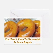 Love Bagels Greeting Cards (Pk of 10)