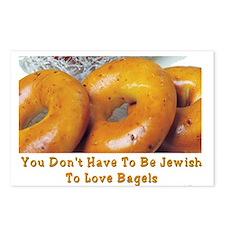 Love Bagels Postcards (Package of 8)