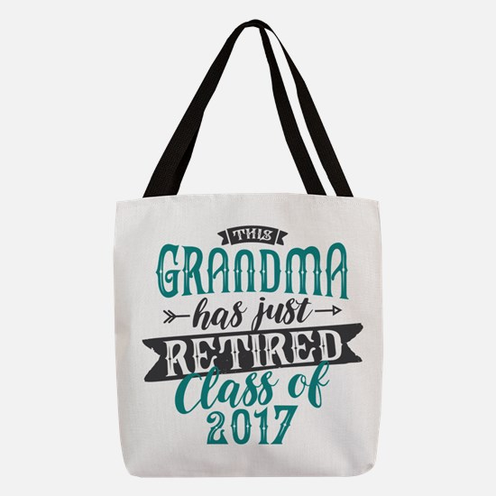 Retired Grandma Polyester Tote Bag