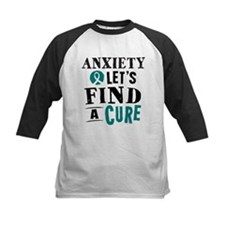 Anxiety Lets Find A Cure Tee