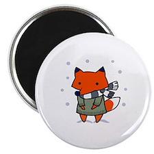 FOX IN WINTER Magnets