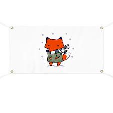 FOX IN WINTER Banner