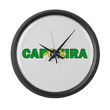 Capoeira 001 Large Wall Clock