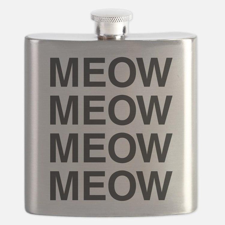 Meow Meow Meow Meow Flask