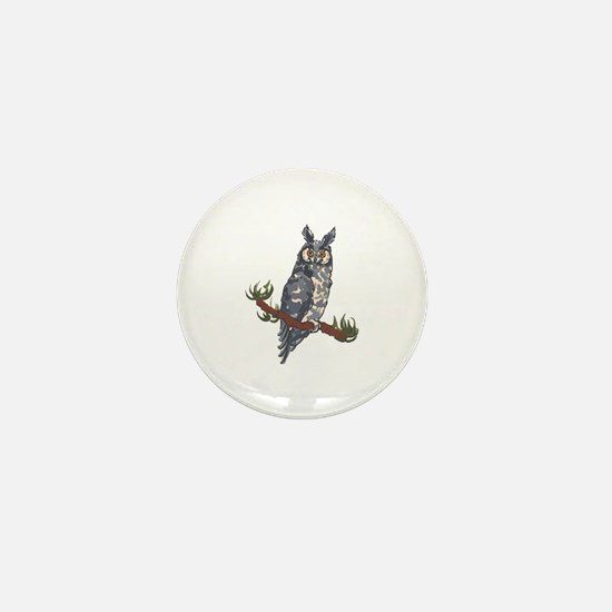 ABYSSINIAN OWL Mini Button
