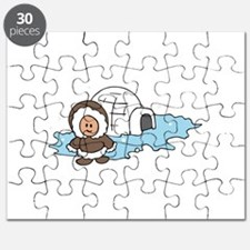 ESKIMO IGLOO Puzzle