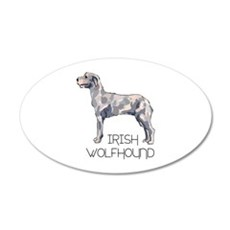 IRISH WOLFHOUND LETTERS Wall Decal