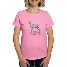 IRISH WOLFHOUND LETTERS T-Shirt