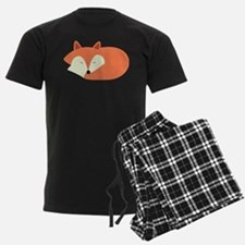Sleepy Red Fox Pajamas