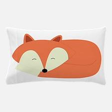 Sleepy Red Fox Pillow Case