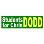 Students for Chris Dodd bumper sticker