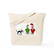 Emille and Eva Xmas Tote Bag