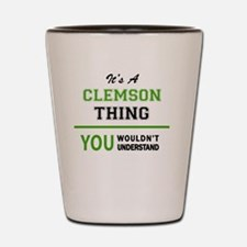 Cool Clemson Shot Glass