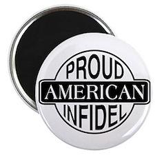 Proud American Infidel Magnet
