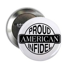 Proud American Infidel Button