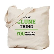 Funny Clunes Tote Bag