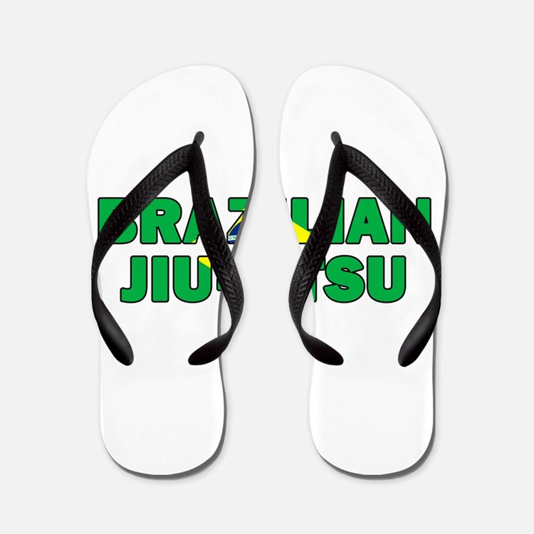 Brazilian Jiu-Jitsu 001 Flip Flops