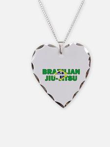 Brazilian Jiu-Jitsu 001 Necklace