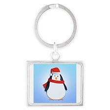 Christmas Penguin Keychains