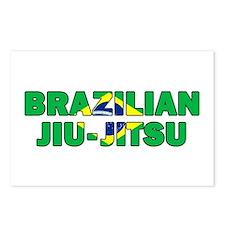 Brazilian Jiu-Jitsu 001 Postcards (Package of 8)