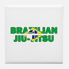 Brazilian Jiu-Jitsu 001 Tile Coaster