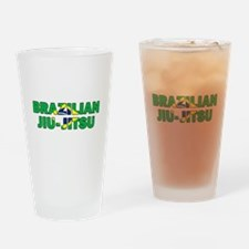 Brazilian Jiu-Jitsu 001 Drinking Glass