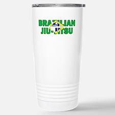 Brazilian Jiu-Jitsu 001 Stainless Steel Travel Mug