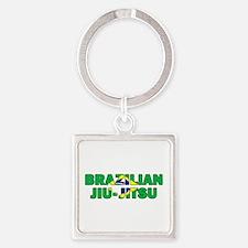 Brazilian Jiu-Jitsu 001 Keychains